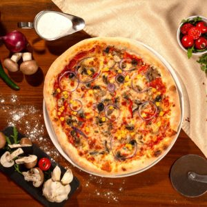 Pizza Vegetariana Sibiu