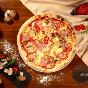 Pizza Quattro carni Sibiu