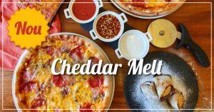 Banner Pizza Cheddar Melt