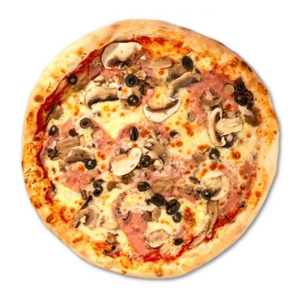Pizza Prosciutto e funghi Sibiu